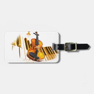 Strings and Keys_ Luggage Tag