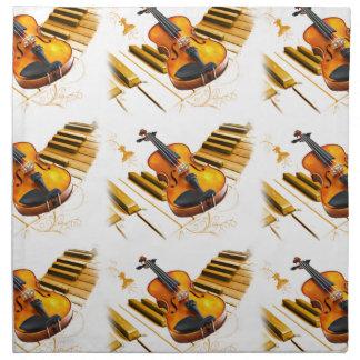 Strings and Keys_ Cloth Napkins