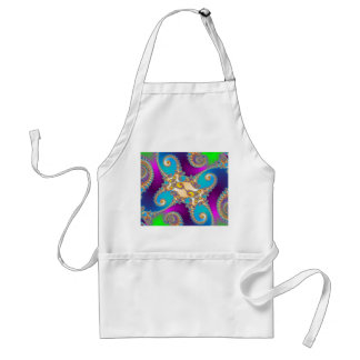 Strings Attached Fractal Art Standard Apron