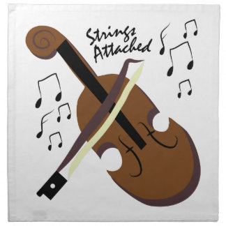 Strings Attached Cloth Napkin