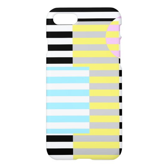 Strip and Colours iPhone 7 Case