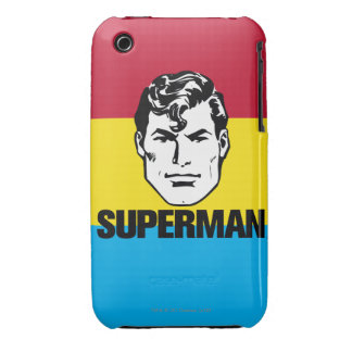 Stripe Boy - Superman Case-Mate iPhone 3 Cases