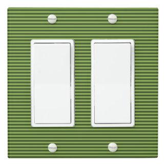 Stripe Design - Green - Light Switch