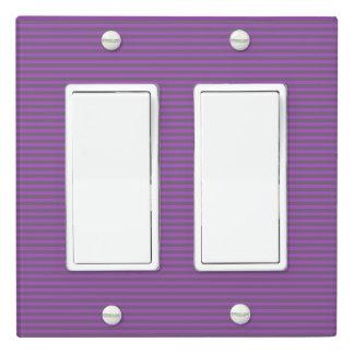 Stripe Design - Plum - Light Switch