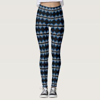 stripe diamond print bold print leggings