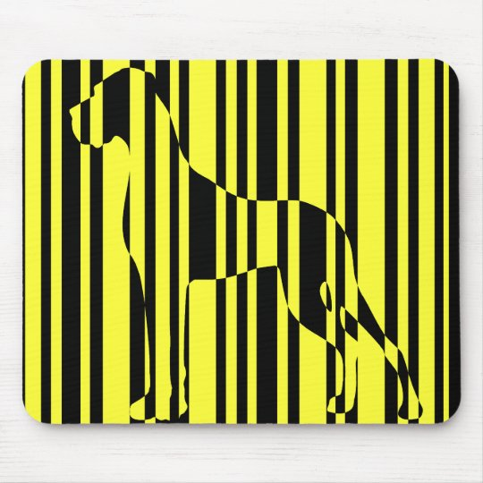 Stripe it! mouse pad
