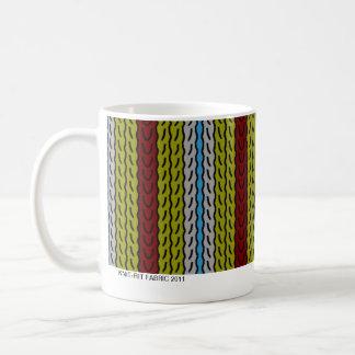 Stripe - olive brick - mug