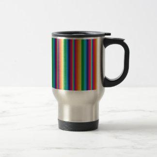 Stripe rainbow mug