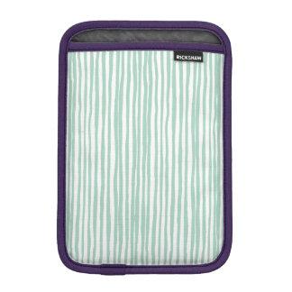 Stripe the Line iPad Mini Sleeve