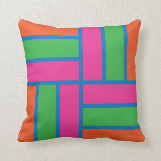 Stripe Tile Pillow