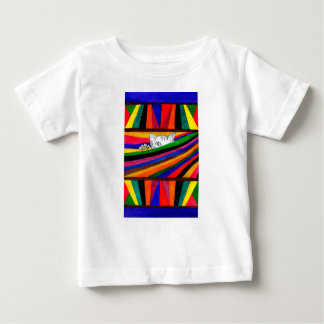 Striped Abstraction Design2 Baby T-Shirt