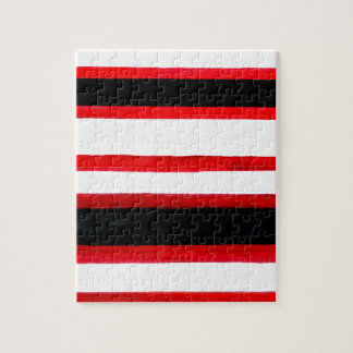 Striped Abstraction Design Jigsaw Puzzle