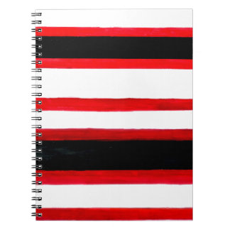 Striped Abstraction Design Notebooks