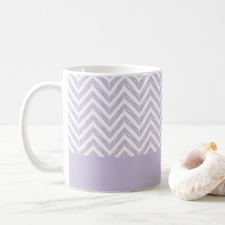 Striped and Purple Mug