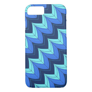 Striped arches on the diagonal iPhone 7 case