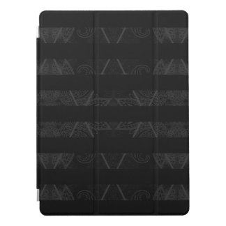 "Striped Argyle Embellished Black 12.9"" iPad Pro Cover"
