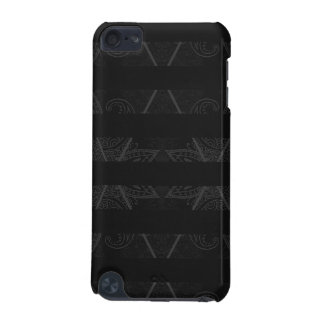 Striped Argyle Embellished Black iPod Touch 5G Case