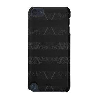 Striped Argyle Embellished Black iPod Touch (5th Generation) Case