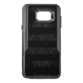 Striped Argyle Embellished Black OtterBox Samsung Note 5 Case