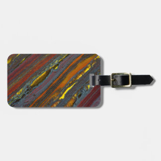 Striped Australian Tiger Eye Bag Tag