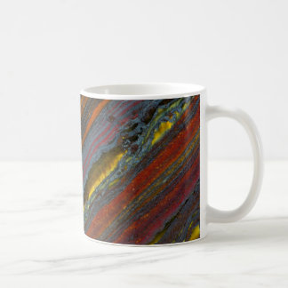 Striped Australian Tiger Eye Coffee Mug
