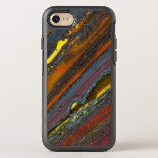 Striped Australian Tiger Eye OtterBox Symmetry iPhone 7 Case