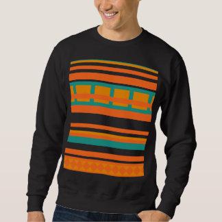 Striped Aztec Sweatshirt