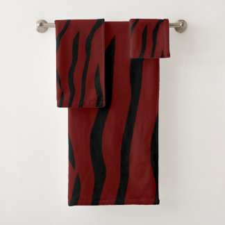 Striped Bath Towel Set