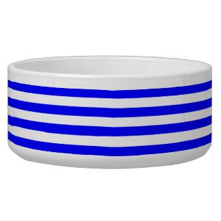 Striped Blue