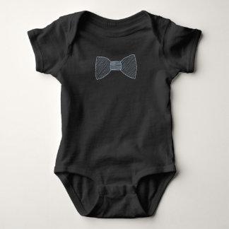 Striped Bowtie Baby Bodysuit