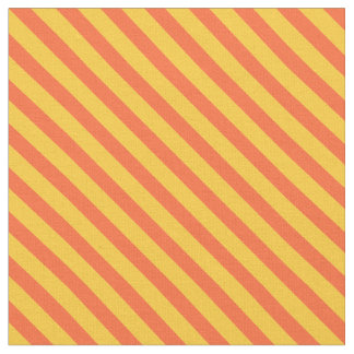 Striped Boy's Fabric, Bright Diagonal Stipes Fabric