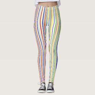 Striped Cherry Leggings