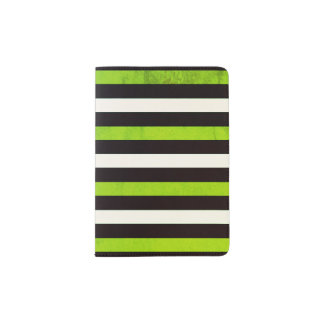Striped Custom Passport Holder