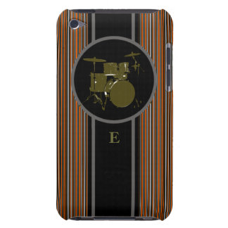 striped drum music customizable Case-Mate iPod touch case