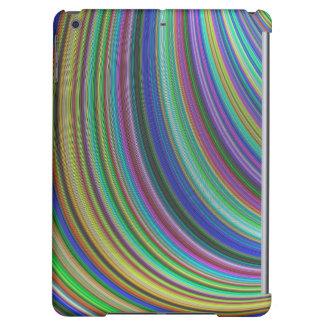 Striped fantasy iPad air covers