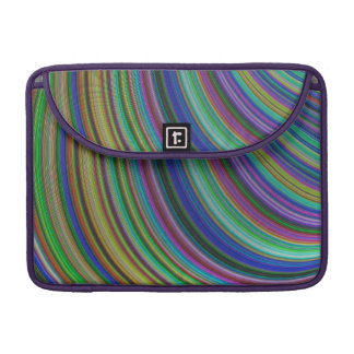 Striped fantasy sleeve for MacBooks