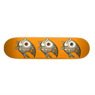 Striped Fish Custom Skate Board