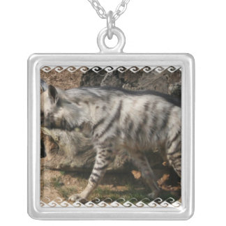 Striped Hyena Necklace