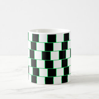Striped illusion Mug