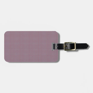 Striped Knitting Background 2 Luggage Tag