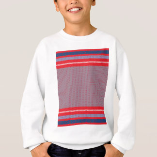 Striped Knitting Background 2 Sweatshirt