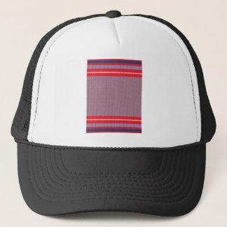 Striped Knitting Background 2 Trucker Hat