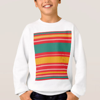 Striped Knitting Background Sweatshirt