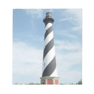 Striped Lighthouse Notepad