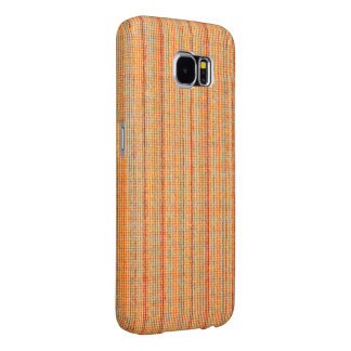 Striped linen texture Samsung Galaxy S6 Case