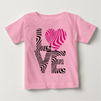 Striped Love Baby T-Shirt
