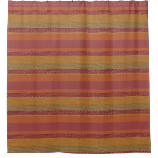 Striped Modern Shower Curtain