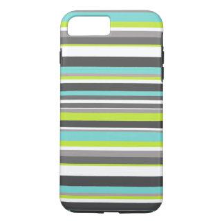 Striped Monogram iPhone 8 Plus/7 Plus Case