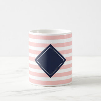 Striped mug with losango - personalizável