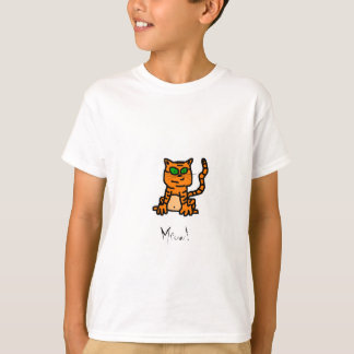 Striped Orange Kitten T-Shirt